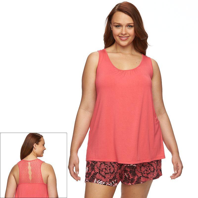 Plus Size Apt. 9® Pajamas: Riviera Romance Pajama Set