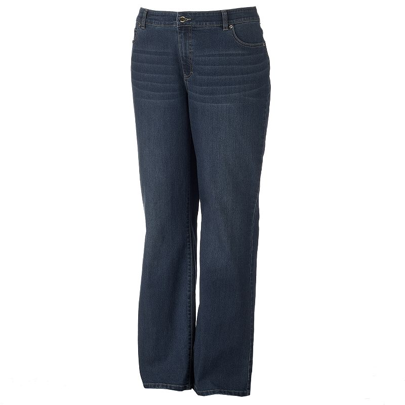Plus Size Jennifer Lopez High-Rise Bootcut Jeans