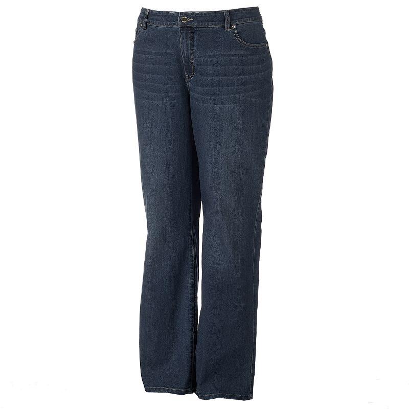 Plus Size Jennifer Lopez High-Rise Bootcut Jeans