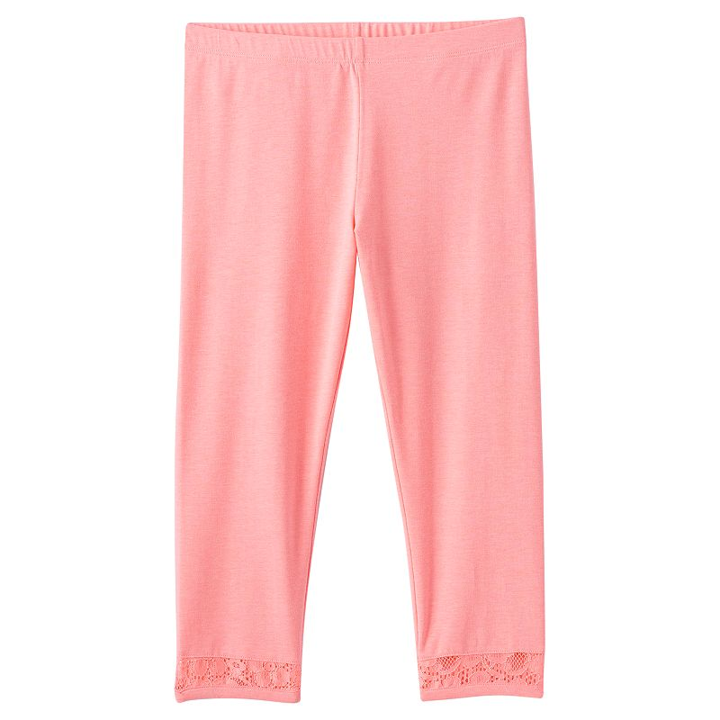Girls 7-16 & Plus Size SO® Lace Capri Leggings