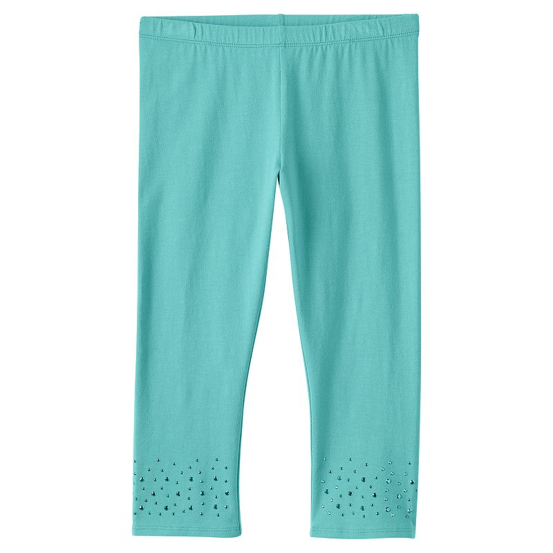 Girls 7-16 & Plus Size SO® Embellished Capri Leggings