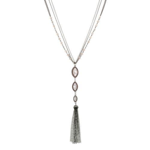 Simply Vera Vera Wang Tassel Y Necklace