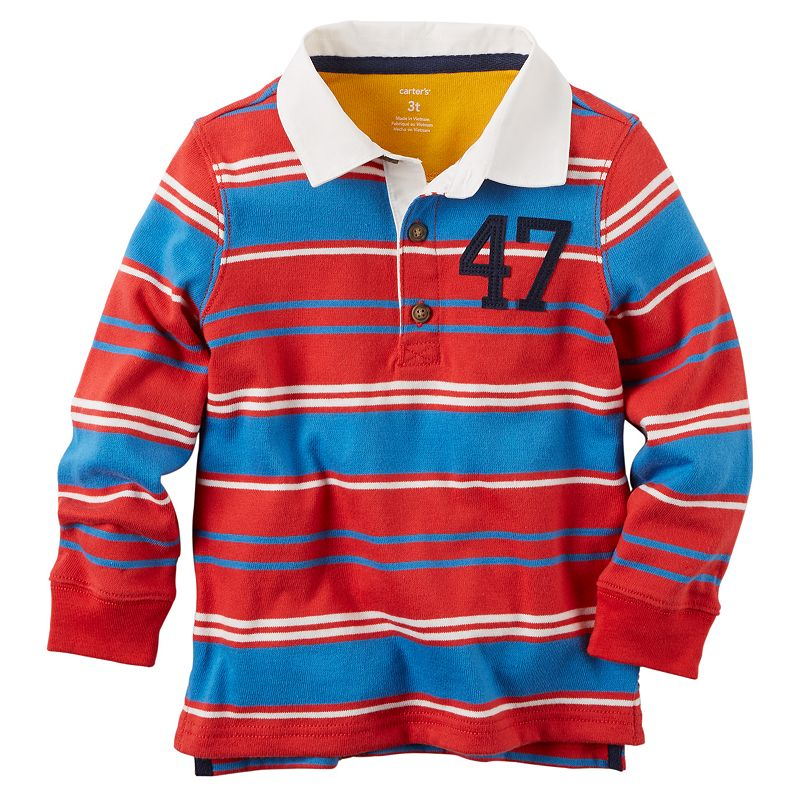 Toddler Boy Carter's Rugby Tee