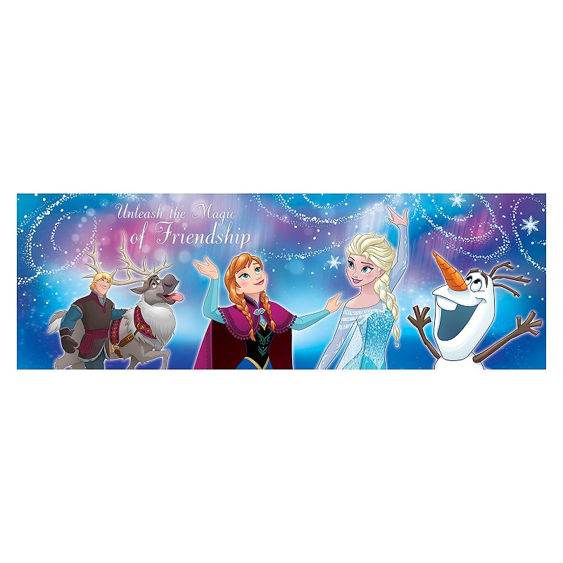 Disney's Frozen ''Unleash the Magic of Friendship'' Panoramic Wall Art