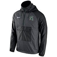 Men's Nike Michigan State Spartans Anorak Pullover Jacket