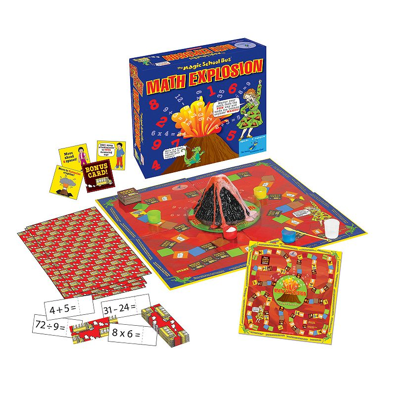 Young Scientist Club The Magic School Bus Math Explosion Board Game