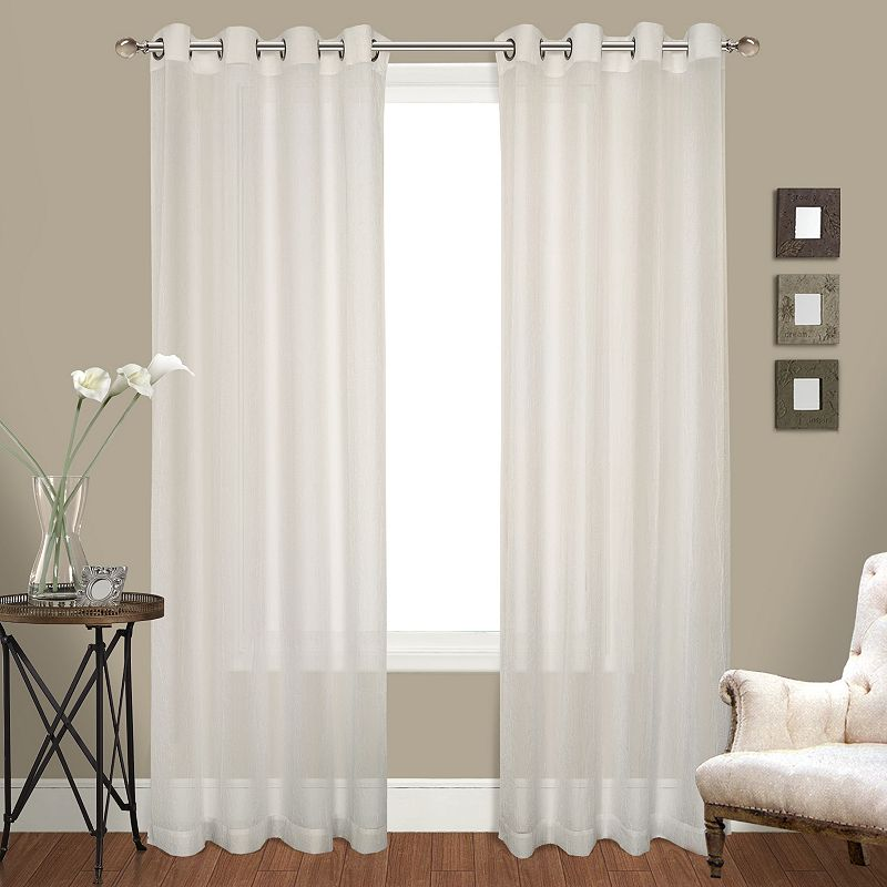 United Curtain Co. Venetian 2-pk. Curtains