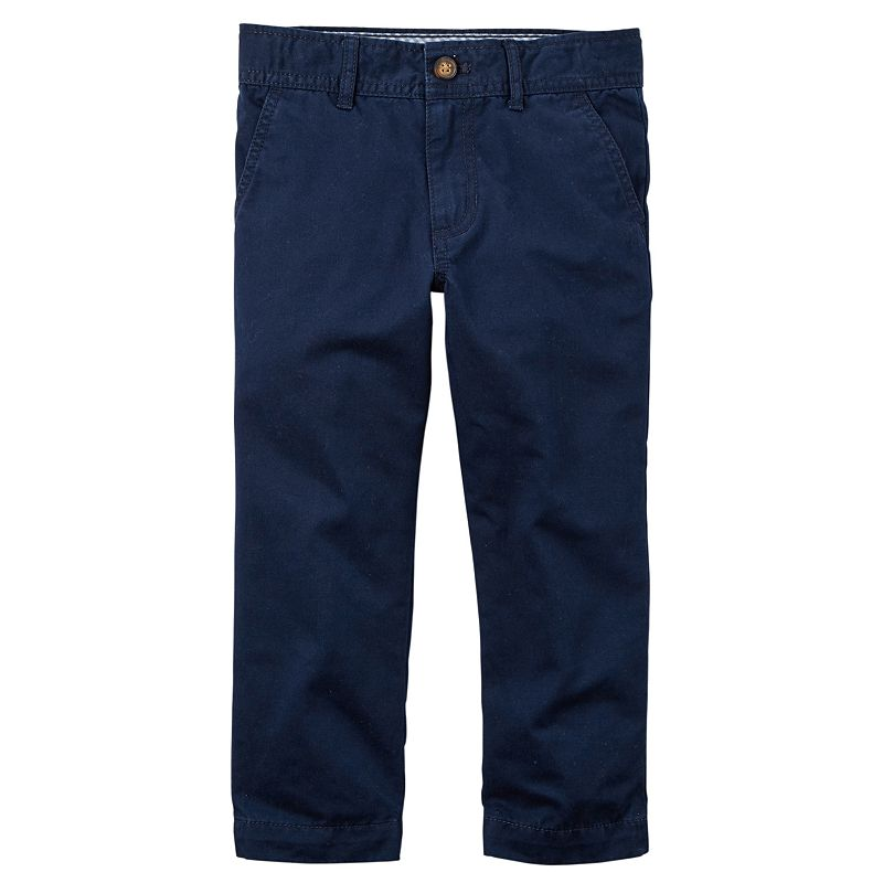 Toddler Boy Carter's Twill Chino Pants