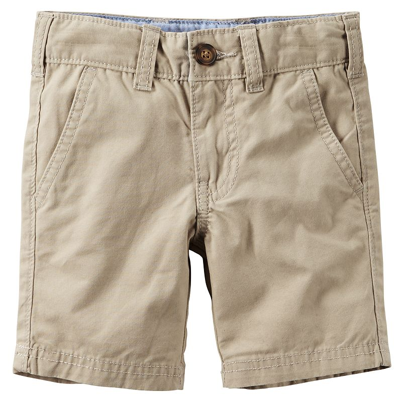 Toddler Boy Carter's Woven Flat-Front Shorts