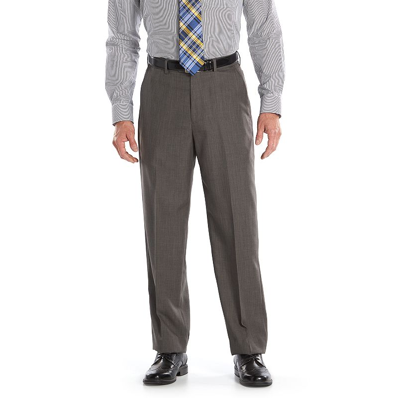Men's Croft & Barrow® Classic-Fit True Comfort Pleated Dress Pants