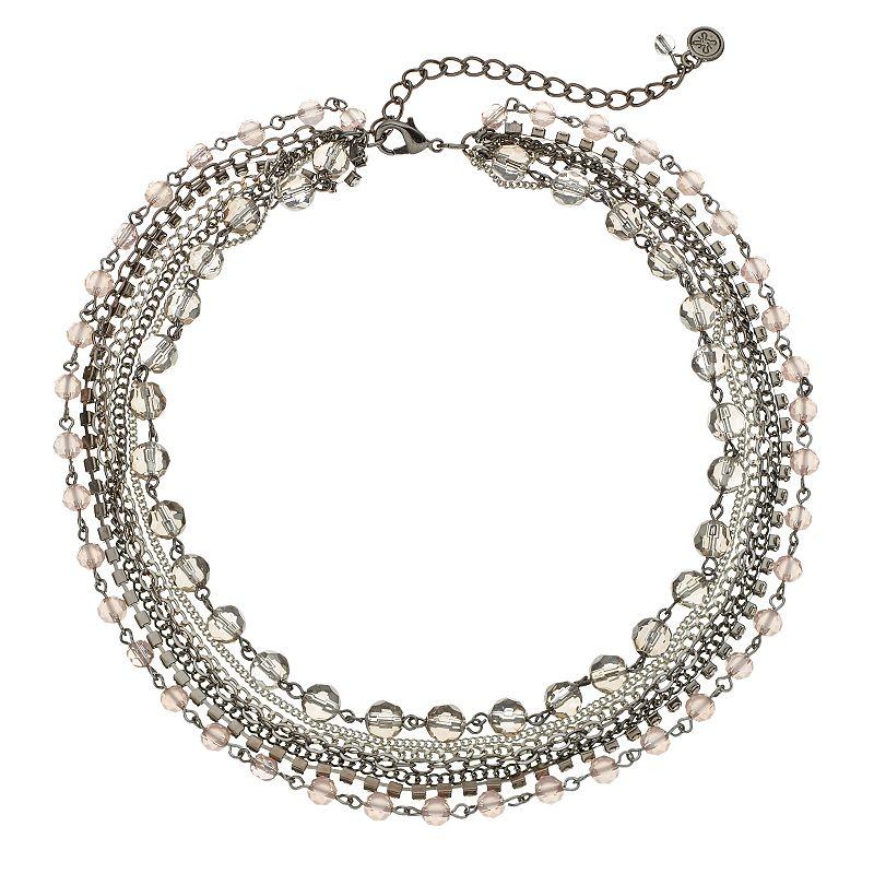 Simply Vera Vera Wang Multistrand Collar Necklace