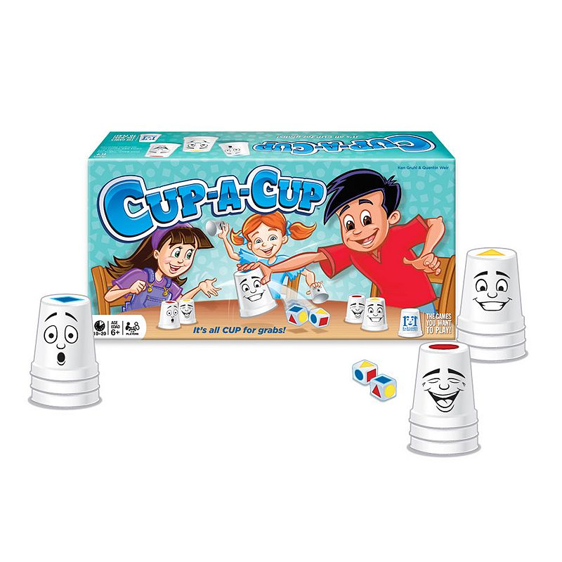 R&R Games Cup a Cup Quick Thinking Cup Grabbing Game