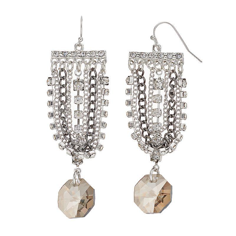 Simply Vera Vera Wang Swag Earrings