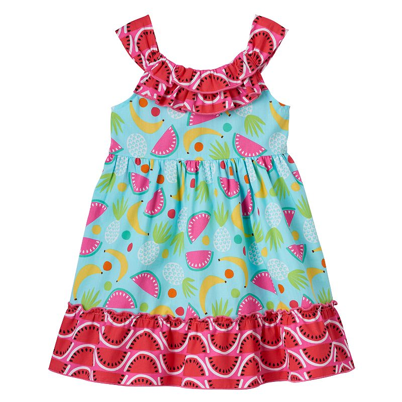 Toddler Girl Youngland Fruit Pattern Dress