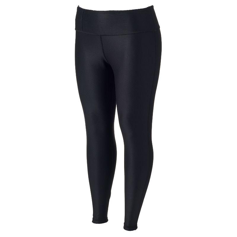 Plus Size Marika Balance Collection Reversible Yoga Leggings