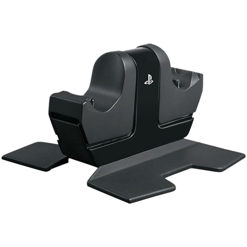 PowerA DualShock 4 Dual Controller Charging Station for Sony Playstation 4, Black