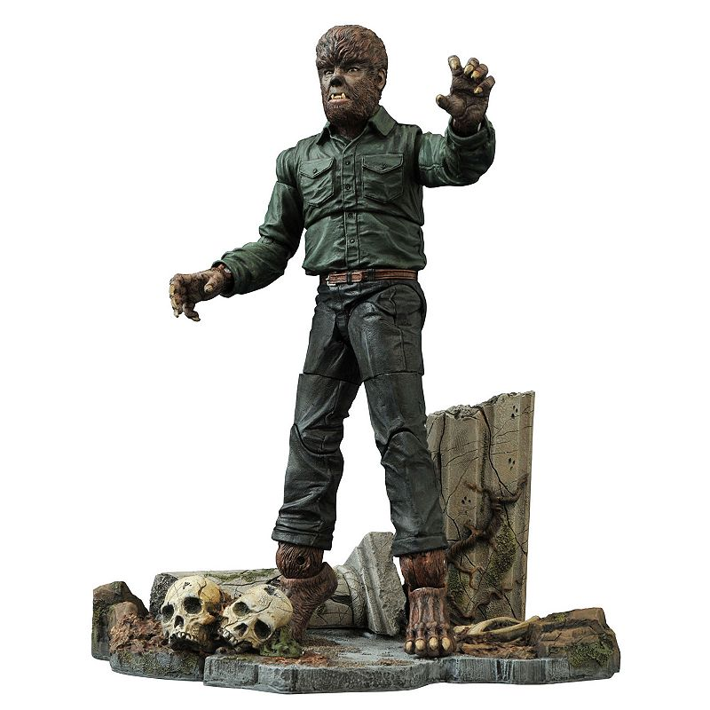 Universal Select Wolfman Action Figure by Diamond Select Toys