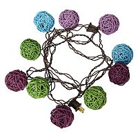Apothecary Multicolor Vine Ball LED String Lights