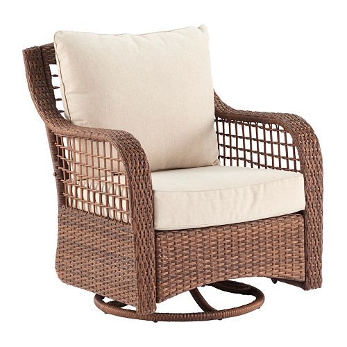 SONOMA Goods for Life Ravine Patio Swivel Chair