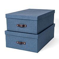 Bigso Box of Sweden Valdemar 2-pk. Nested Boxes