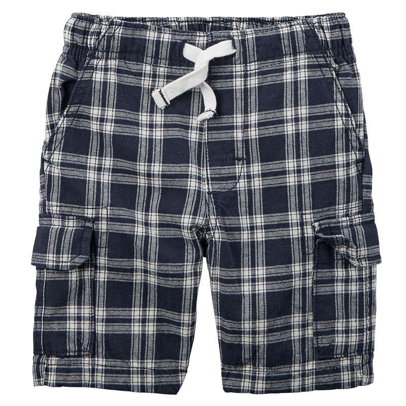 Baby Boy Carter's Plaid Cargo Shorts