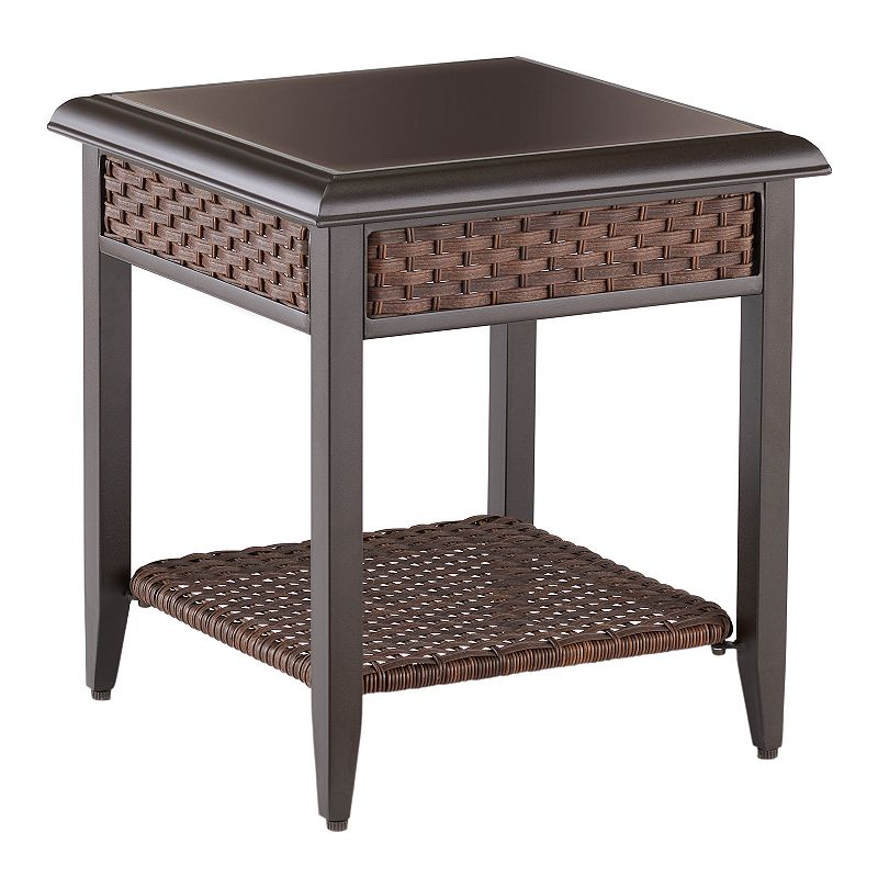 Sonoma Goods For Life Brockport Woven End Table Dealtrend