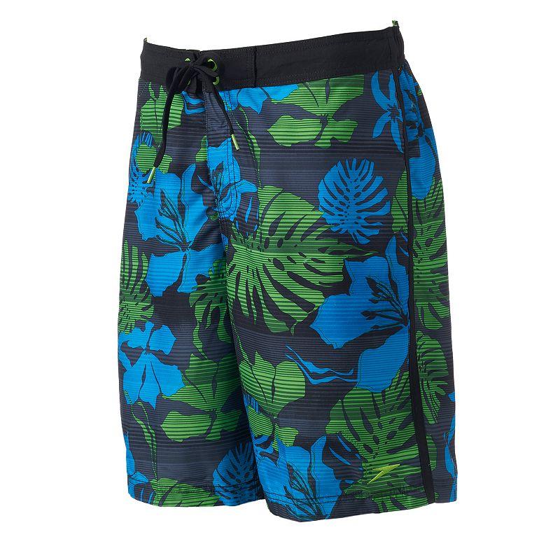 Men's Speedo Floral E-Board Shorts
