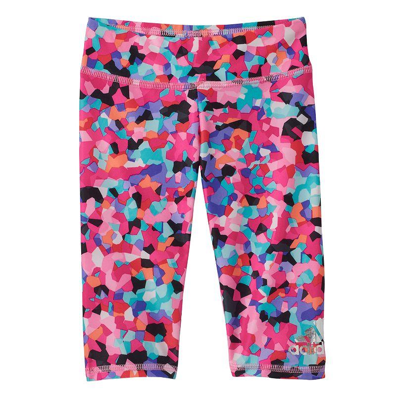 Toddler Girl adidas Printed Capri Leggings