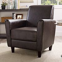 Henry Solid Arm Chair (Multiple Colors)