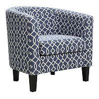 Riley Barrel Arm Chair (Multiple Colors) + $20 Kohls Cash