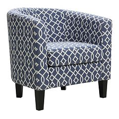 Riley Barrel Arm Accent Chair by