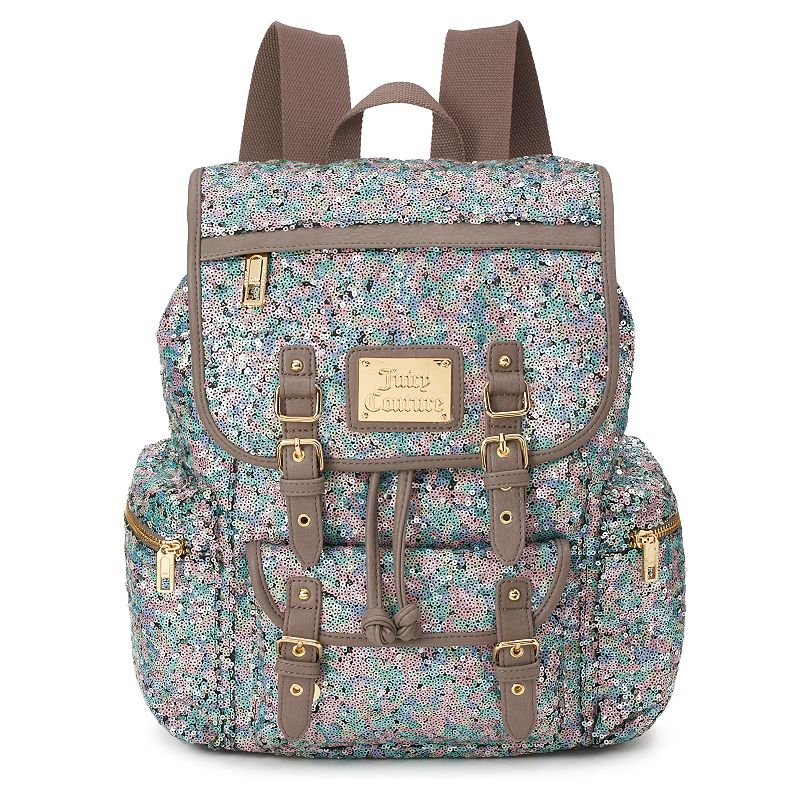 Juicy Couture Sequin Buckles Backpack