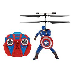 Marvel Avengers Captain America Remote Control Helicopter by World Tech Toys by