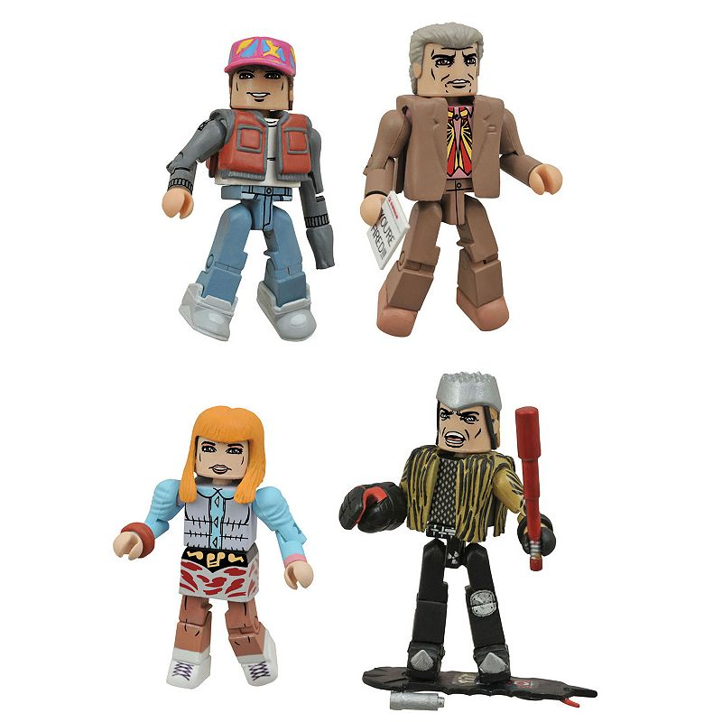 Back To The Future 30th Anniversary Minimates Hill Valley Box Set by Diamond Select Toys