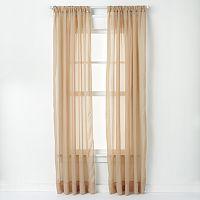 Curtainworks Trinity Crinkle Voile Curtain