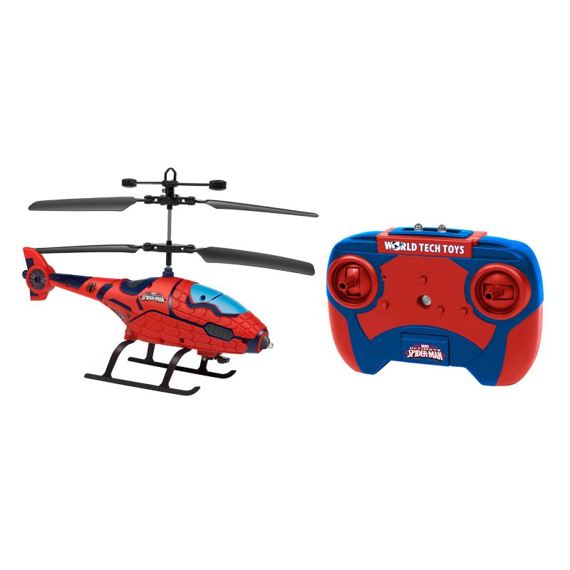 Marvel Spider-Man Remote Control Helicopter by World Tech Toys, Multicolor thumbnail
