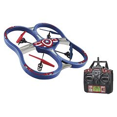 Marvel Captain America 2.4GHz 4.5CH RC Super Drone by World Tech Toys by