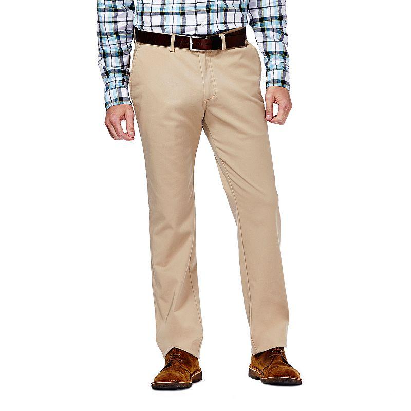 Men's Haggar Slim-Fit Sustainable Twill Chino Pants