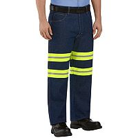 Men's Red Kap Enhanced Visibility Relaxed-Fit Jeans