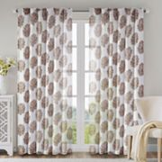 Madison Park Addison Anthro Curtain, Brown