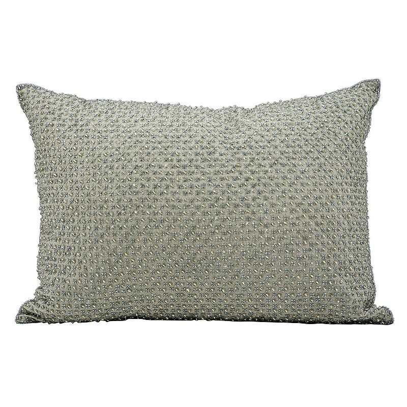 Kohls Purple Throw Pillows : Silver Throw Pillow Kohl s