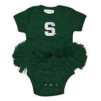 Baby Michigan State Spartans Tutu Bodysuit