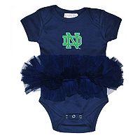 Baby Notre Dame Fighting Irish Tutu Bodysuit