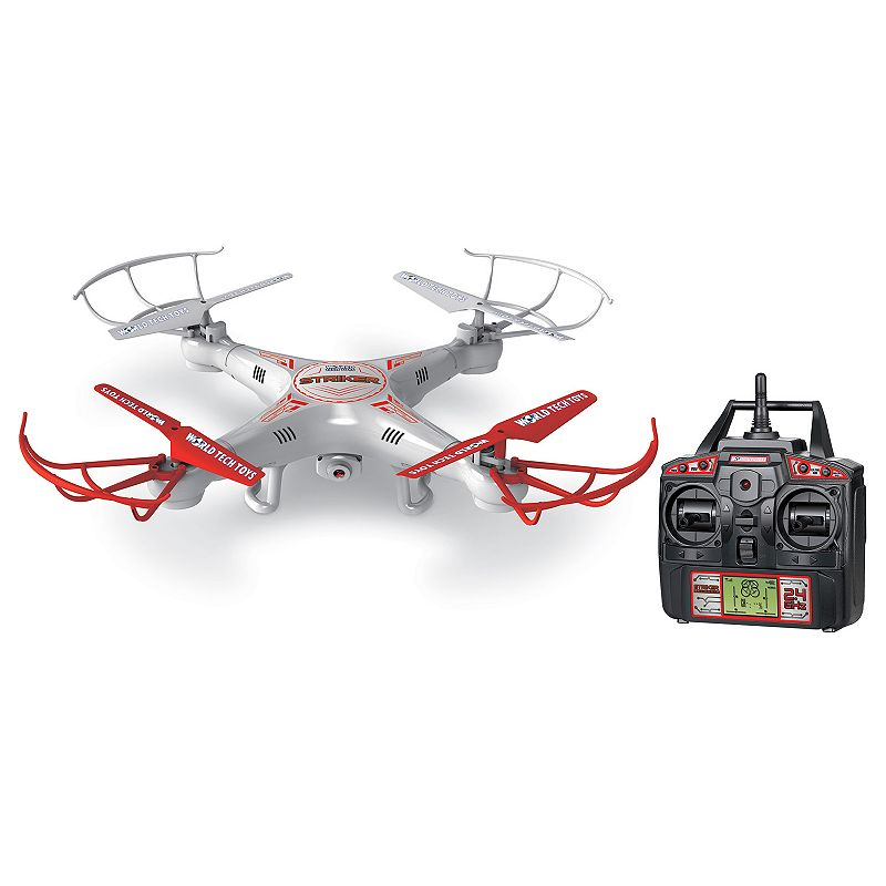 World Tech Toys Striker Spy Drone Camera Remote Control Helicopter, Multicolor