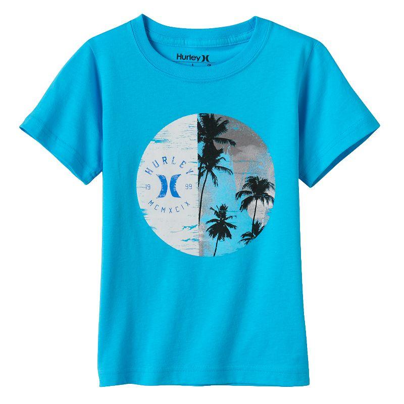 Boys 4-7 Hurley Palm Tree Graphic Tee