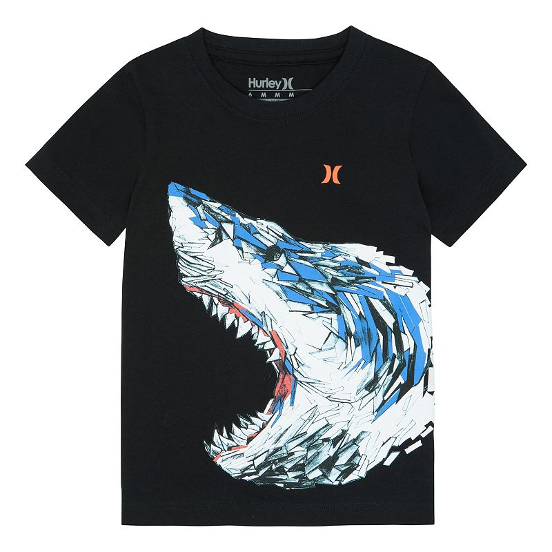 Boys 4-7 Hurley Shark Tee