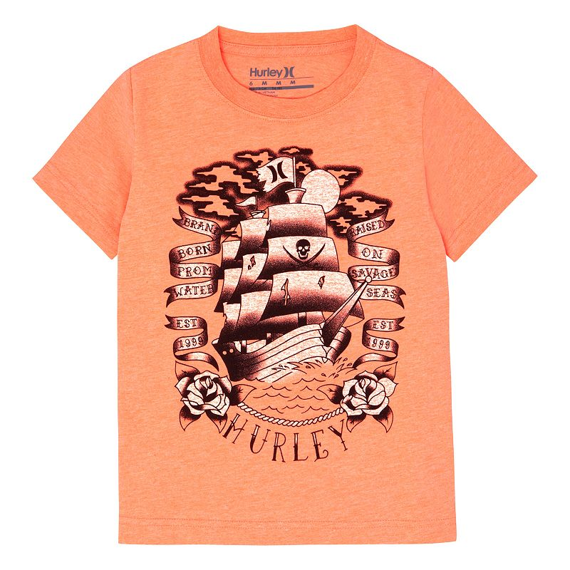 Boys 4-7 Hurley Ship Tee