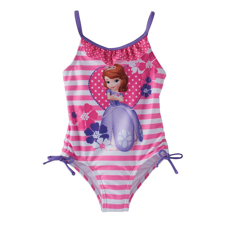 Disney's Sofia the First Toddler Girl One-Piece Swimsuit