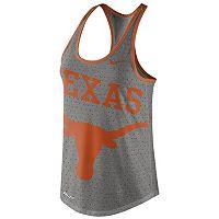 Women's Nike Texas Longhorns Dri-Blend Tank