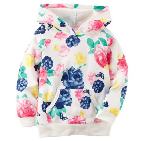 Toddler Girl Carter's French Terry Hoodie